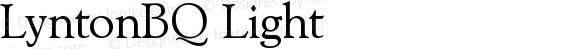 LyntonBQ Light Version 001.000