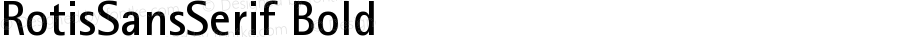 Rotis Sans Serif Bold 65