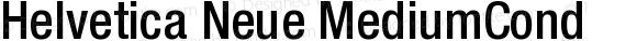 Helvetica Neue MediumCond