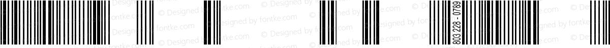 Barcode 3 of 9 BoldItalic