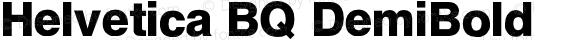 Helvetica BQ DemiBold