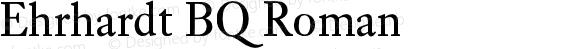 Ehrhardt BQ Roman Version 001.000