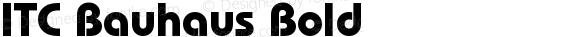 ITC Bauhaus Bold preview image