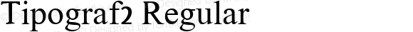 Tipograf2 Regular