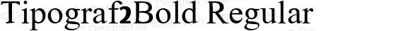 Tipograf2Bold Regular