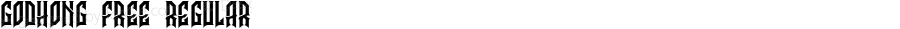 Godhong Free Regular Version 1.000;PS 001.001;hotconv 1.0.56