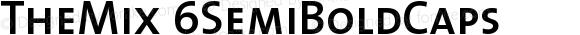 TheMix 6SemiBoldCaps Version 1.0