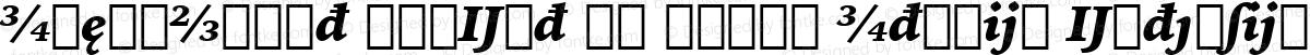 IowanOldSt BlkExt BT Black Italic Extension