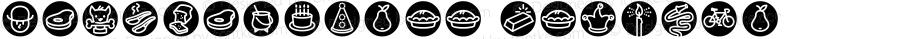IconicsThree Regular Macromedia Fontographer 4.1.5 6/16/03