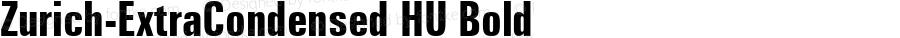 Zurich-ExtraCondensed HU Bold 1.000