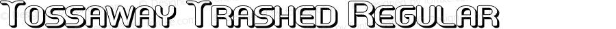 Tossaway Trashed Regular Version 1.000;PS 001.000;hotconv 1.0.38