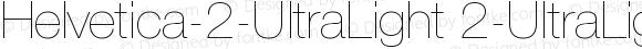 Helvetica-2-UltraLight 2-UltraLight