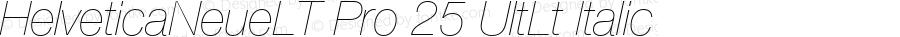 HelveticaNeueLTPro-UltLtIt