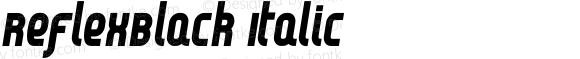 ReflexBlack Italic
