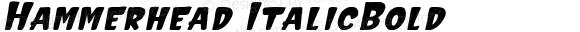 Hammerhead ItalicBold