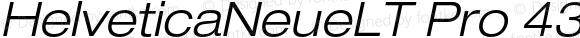 HelveticaNeueLTPro-LtExO