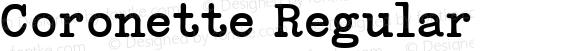 Coronette Regular
