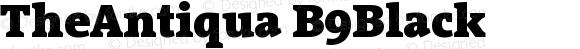 TheAntiqua B9Black Version 001.000