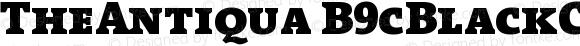 TheAntiqua B9cBlackCaps Version 001.000