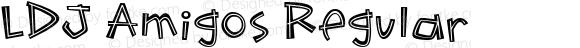 LDJ Amigos Regular Macromedia Fontographer 4.1 8/1/2005