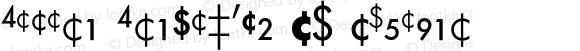 Futura Fractions BQ Regular 001.000