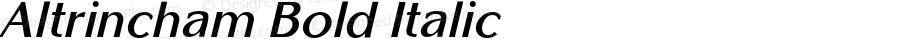 Altrincham Bold Italic Version 1.000;PS 1.10;hotconv 1.0.38