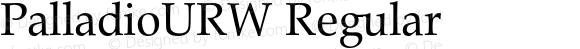 PalladioURW Regular Version 1.000;PS 1.10;hotconv 1.0.38