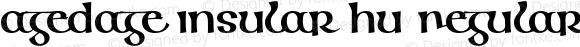 Agedage Insular HU Regular Version 1.000 2006 initial release