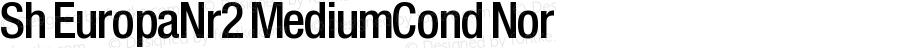 Sh EuropaNr2 MediumCond Nor Version 001.001