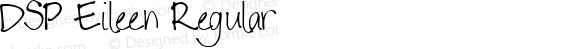 DSP Eileen Regular Macromedia Fontographer 4.1 12/28/2006