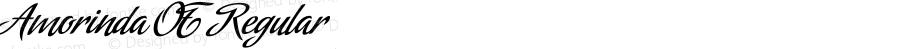 Amorinda OT Regular Version 1.000;PS 001.000;hotconv 1.0.38