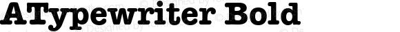 ATypewriter Bold