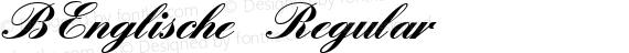 BEnglische Regular preview image