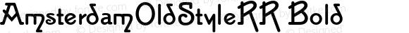 AmsterdamOldStyleRR Bold 001.004
