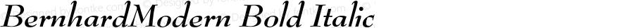 BernhardModern Bold Italic 4.0