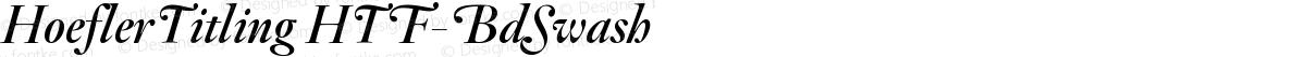 HoeflerTitling HTF-BdSwash