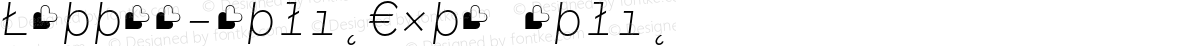 Lettera-ItalicExtra Italic