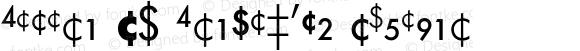 Futura BQ Fractions Regular 001.000