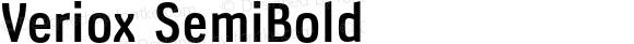 Veriox SemiBold