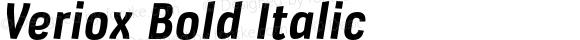 Veriox Bold Italic