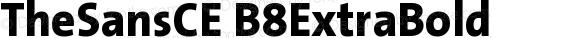 TheSansCE B8ExtraBold Version 001.006