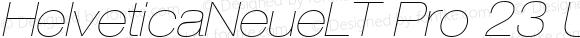 HelveticaNeueLTPro-UltLtExO