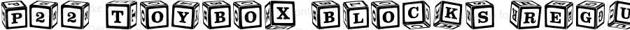 P22 ToyBox Blocks Regular 1.2 11/16/00