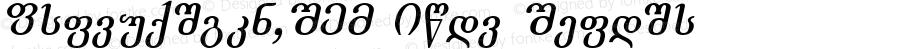Academiury-ITV Bold Italic