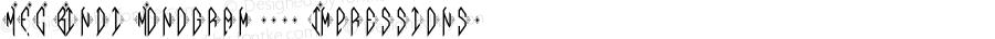 MFC Bindi Monogram (250 Impressions) Version 1.000