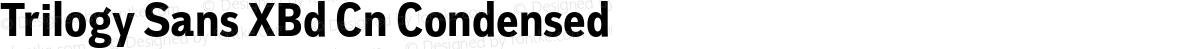 Trilogy Sans XBd Cn Condensed