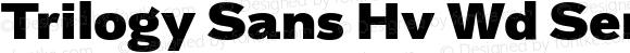 Trilogy Sans Hv Wd Semi-expanded