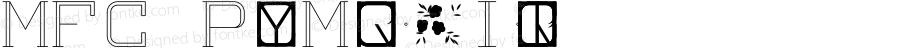 MFC Peony Monogram (250 Impressions) Version 1.000