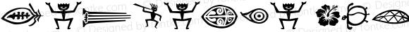 Tangaroa Glyphs Glyphs Version 1.01