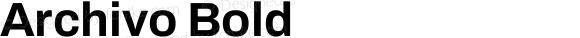Archivo Bold